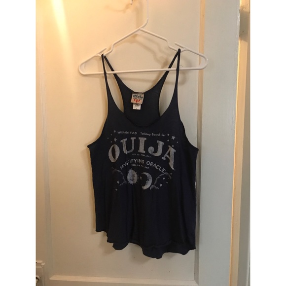 Junk Food Clothing Tops - Junk Food Ouija Board Tank Top